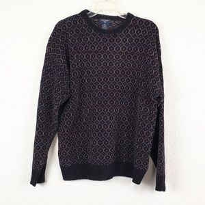 Dockers brown decorative sweater